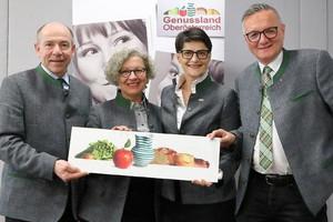 Team des Genussland Oberösterreichs mit Landesrat
