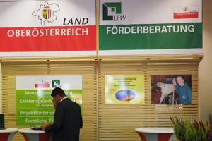 Förderberatungsstand der Abteilung Land- und Forstwirtschaft